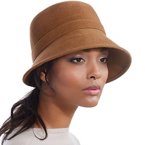 Eric Javits Luxury Designer Women s Fashion Headwear Hat - Hillary - Bronze d18eceffeebc