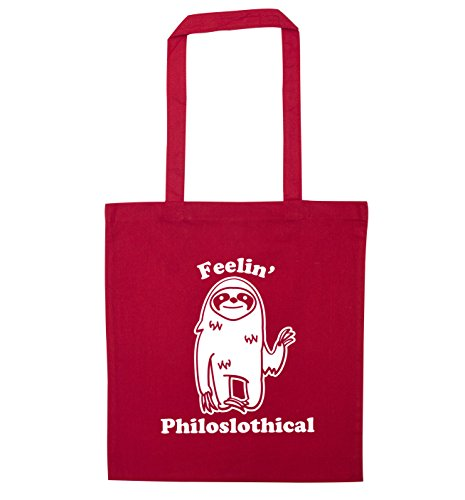 bag Red tote Feelin' Feelin' Philoslothical Philoslothical RwC8qIw