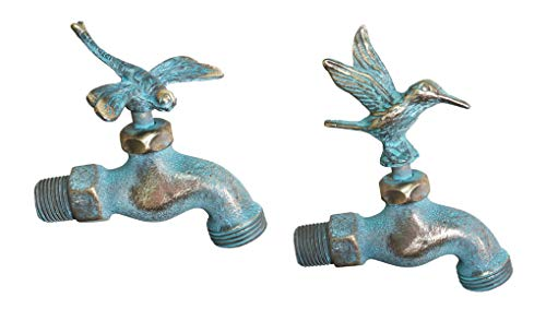 (Taiwan Decorative Solid Brass Garden Outdoor Faucet 4