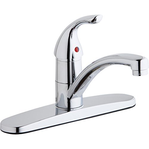 Elkay LK1000CR Everyday Chrome Single Lever Kitchen Faucet
