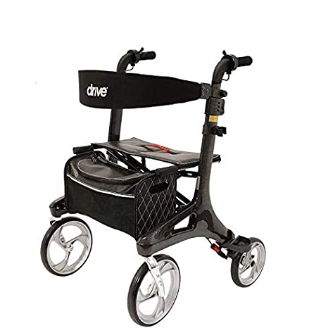Drive Medical Rollator Nitro Carbon Twist: Amazon.es: Salud ...