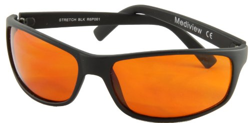 Macular Disease (AMD) Glasses: HiView Extra for strong sunlight - endorsed by Royal National Institute for the Blind - Degeneration Sunglasses Macular