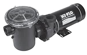3/4 HP 3450 RPM, 115 volts Above Ground Pool Pump - Waterway brand - With large Debris Basket & Powe