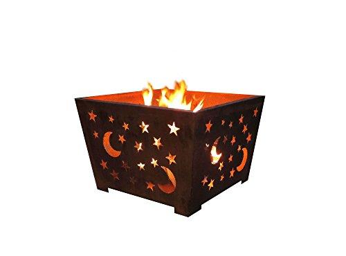 Esschert Design FF1004 Star and Moon Fire Basket