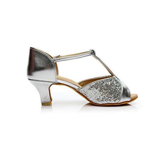 230979345813c8 JOY DRAGON Womens peep Toe Latin Tango Dance Shoes High Heel Sandals Ankle  Strap High Heel