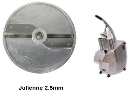 General Julienne 2.5Mm Disc Vegetable Cutter Accessory Gsv-Hu2.5