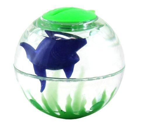 Hartz Cat Toy Aqua Bizzy Ball Fill with Water Green