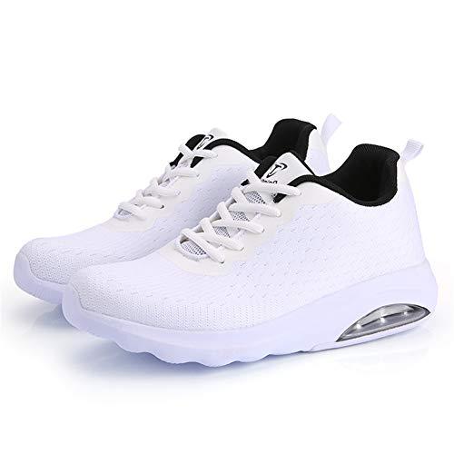 Leicht b33wh43 Damen Fexkean Herren Running Laufschuhe Turnschuhe Walkingschuhe Shoes Air Sneaker Sportschuhe P6fPn