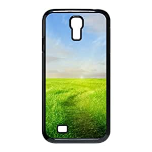 Samsung Galaxy S4 Cases Prairie 02 for Teen Girls Protective, Samsung Galaxy S4 Case Cute for Teen Girls Protective [Black]