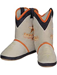Cowgirl Boot Yellow Star Beige