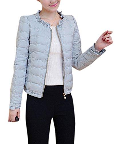 youtobin-womens-short-cotton-padded-down-jacket-warm-thin-outwear-l-blue