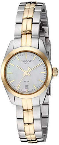 Tissot Women's PR 100 Lady Small - T1010102211100 Gold/Silver One Size