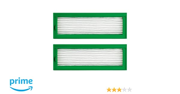2 High Performance filtro para Vorwerk VR 200 de Hannets®: Amazon ...