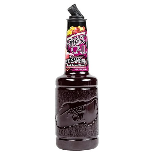 Finest Call Red Sangria Drink Mix 1 Liter Pack of 12