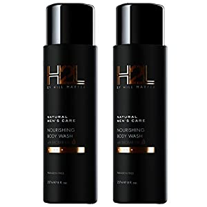 H2L Premium Natural Nourishing Body Wash With Baobab Oil For Men By Hill Harper (2 Pack)