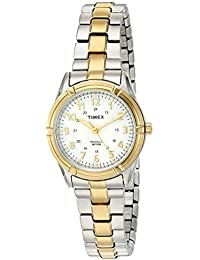 Women's 'Easton Avenue' Quartz Brass and Stainless Steel Casual Watch, Color:Two Tone (Model: TW2P890009J)