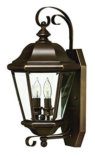 - Hinkley 2425CB Traditional Two Light Wall Mount from Clifton Park collection in Copperfinish,