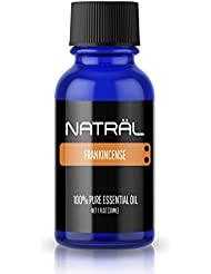 NATRÄL Frankincense, 100% Pure and Natural Essential Oil, Large 1 Ounce Bottle