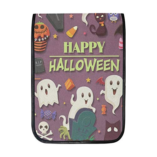 Ipad Pro 12-12.9 inch Sleeve Case Bag for Surface Pro Vintage Halloween with Ghost Mac Protective Carrying Cover Handbag for 11
