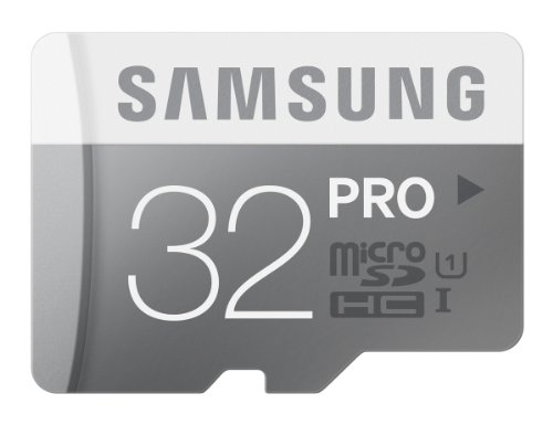 Samsung 32GB PRO Class 10 Micro SDHC up to 90MB/s with Adapter (MB-MG32DA/AM)