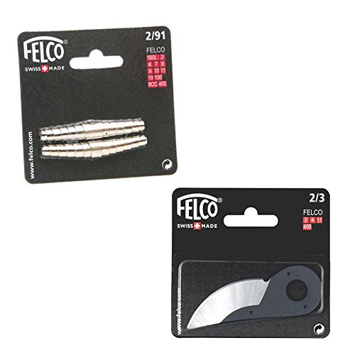 Felco model 2 secateurs volute SPRING and BLADE set - model 2, 4, 11 - new sealed