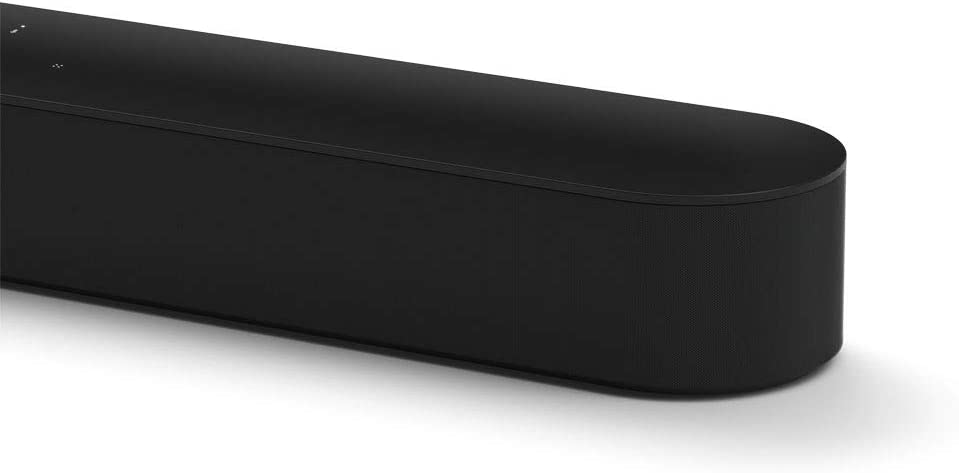 Sonos Beam barra de sonido con Alexa integrada - barra de sonido inteligente para TV y música, altavoz compatible con AirPlay, color negro: Amazon.es: Electrónica