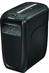 "The Fellowes PowerShred 60Cs Cross-Cut Shredder can shred up to 10 sheets of paper per pass into 302 (5/32"" x 2"" Security Level P-4) cross-cut particles. This machine also safely shreds CDs/DVDs, credit cards, staples, paper clips and junk ma..."