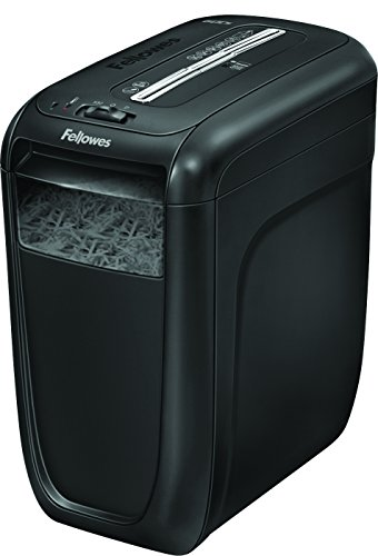 Fellowes Powershred 60Cs Light, Duty Cross, Cut Shredder, 10 Sheet Capacity, Black (4606001) by Fellowes