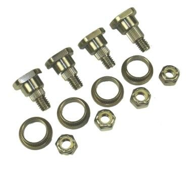 National Parts and Abrasives Front Door Hinge Kit (Buick Roadmaster '91-96,Cadillac Deville(FWD) '94-99, Eldorado '92-02, Fleetwood(RWD), Seville '92-97 '93-96,Chevrolet Camaro & Pontiac Firebird '93-02,Caprice '91-96,Impala '94-96,Lumina APV '90-96,Silhouette '90-96, Trans Sport '90-96) Repairs Upper & Lower Hinges
