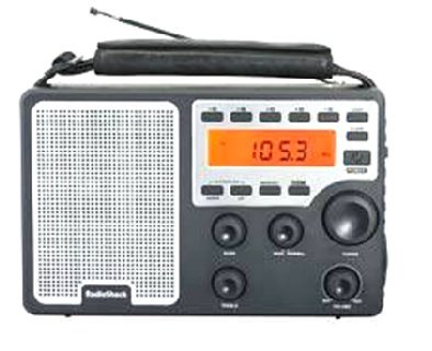 RadioShack Extreme Range AM/FM/Weather Radio by RadioShack (Image #1)