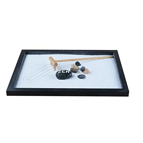 100% Hand Make Wood Craft Zen Garden Sand Tray Zen Sandbox Office Ornament Home Decoration Accessories Relax Craft Valentine's Day Gift