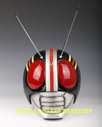 R034 Cosplay Masked Rider/Kamen Rider Black 1/1 Wearable Helmet / Mask (Iron Man Cosplay Armor)