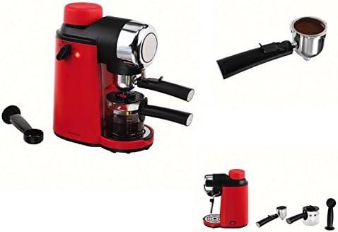 Eléctrica Cafetera expreso 4 tazas espresso Cafetera de émbolo ...
