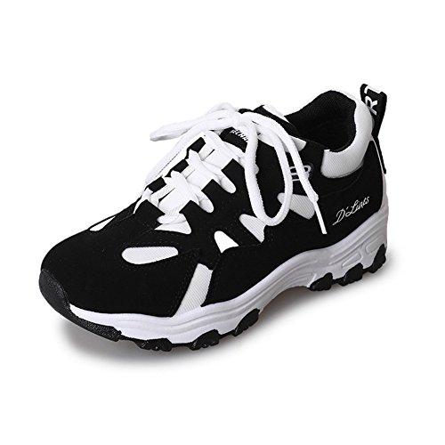 Calzado Deportivo para Mujer Calzado Deportivo para Mujer Calzado Casual para Mujer Calzado Deportivo para Deporte Calzado Ligero para Mujer Zapatos para Mujer (Color : Blanco, tamaño : 36)