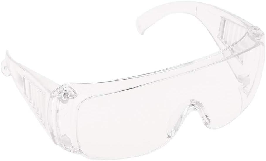 Gafas de Plexigl/ás de Motocicleta Gafas A Prueba De Polvo Transparentes Plegables