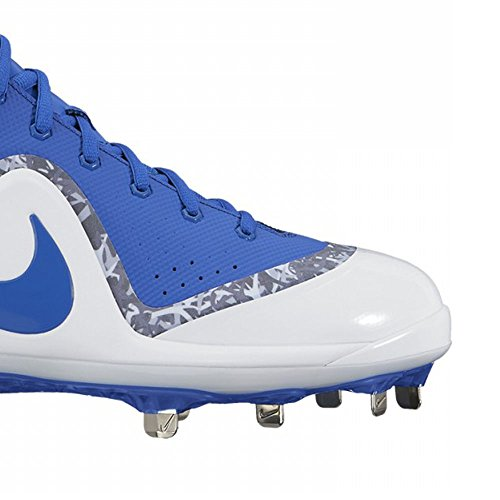 Homme Zoom Royal Blue photo Crampons Game US Nike white nbsp;Mid Force Royal pour 4 Truite Baseball Métal Game 54xtTq