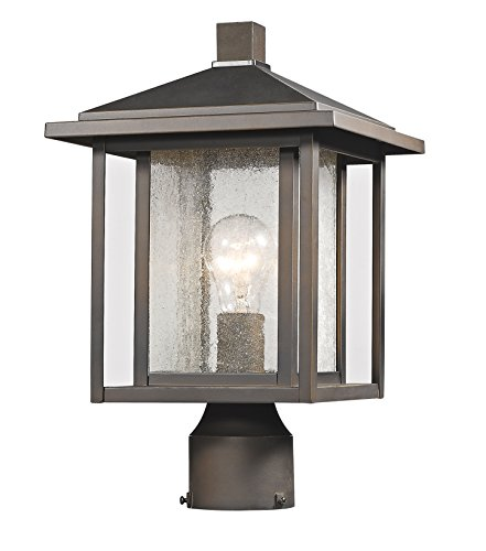 Z-Lite 554PHM-ORB 1 Light Outdoor, Oil Rubbed Bronze