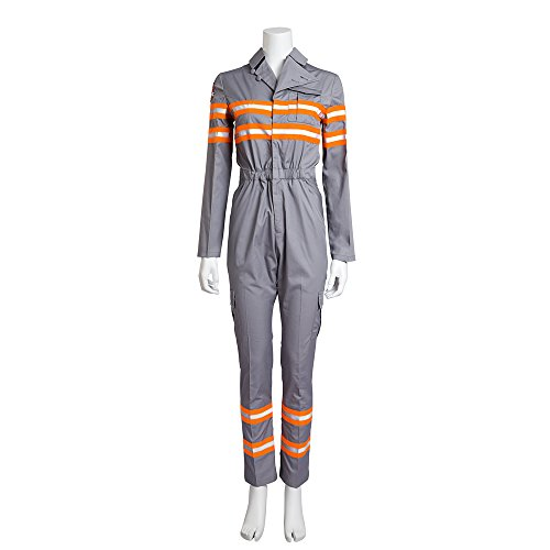 [MLYX Unisex Adult Ghostbusters Cosplay Costume Adult Jumpsuits Unifrom (Small, Female)] (Ghostbusters Womens Costume)