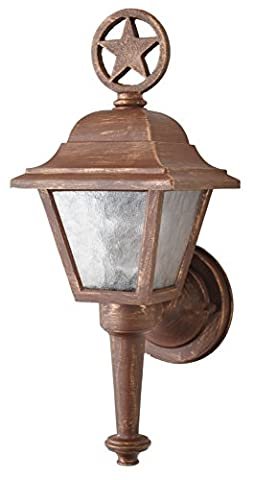 Melissa Lighting Outdoor Wall Mount LS1734 Western from Lone Star Series Collection in (Lone Star Porch Light)