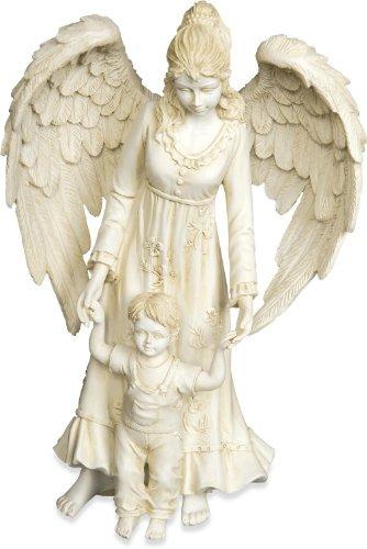 AngelStar Angel with Child Figurine, 4-Inch