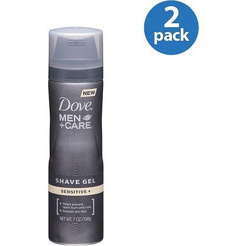 Dove Men + Care Shave Gel Sensitive 7 oz (Pack of 3)