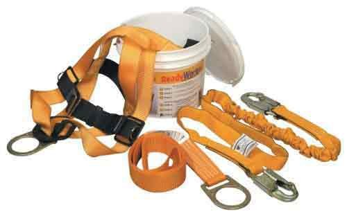 Miller Titan by Honeywell TFPK-5/XXL/6FTAK Ready Worker Fall Protection Kit, XX-Large