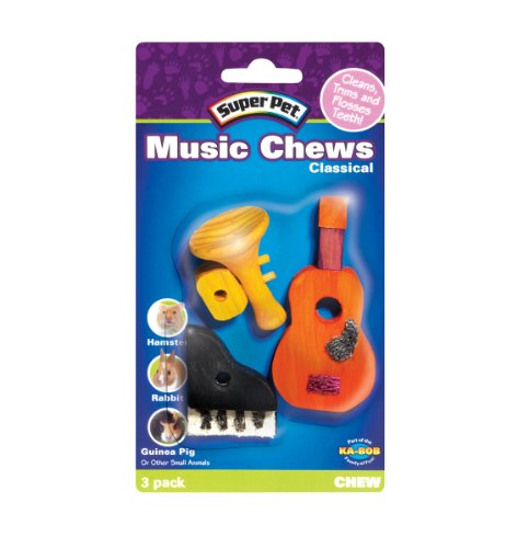 Super Pet Classical Music Chews, 3-Pack, My Pet Supplies