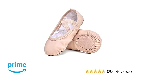 Amazon com | STELLE Girls Ballet Practice Shoes, Yoga Shoes