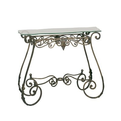 Perugia Console Table in Bronze (Passport Accent Furniture)
