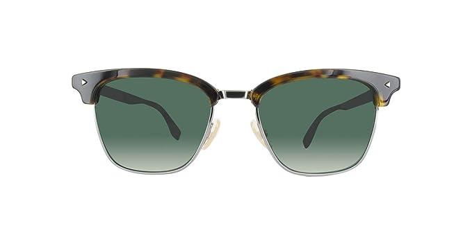 Fendi FF M0003/S IR KB7 52, Gafas de Sol para Hombre, Gris ...