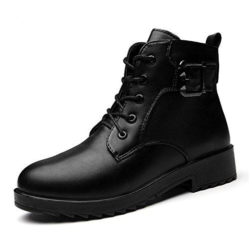 e caldo il Moda stivali da black velluto in con cotone vento donna Uniti negli non slip scarpe scarpe Europa inverno Stati Plus in donna Hqwx87xX