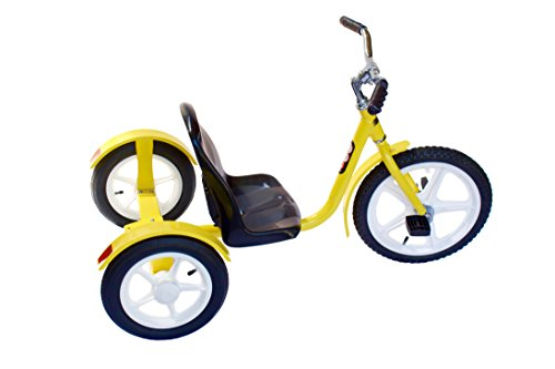 Groffdale Chopper Kid's Deluxe Yellow Trike by AmishToyBox.com (Image #1)