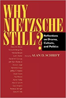 Book Why Nietzsche Still?: Reflections on Drama, Culture and Politics by Alan D Schrift (2000-02-24)