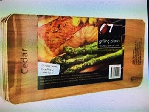 Coastal Cuisine Cedar Grilling/Barbecue Planks Set of 7 by Coastal Cuisine